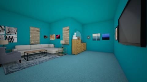 Ice Castle Living Room - Modern - Living room - by Elf_prettyballetgirl16