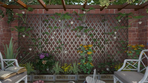 Tea in the garden - Garden  - by milyca8