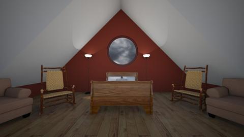 Attic room - by Its hamzah
