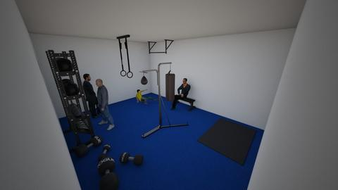 gym - by Herget