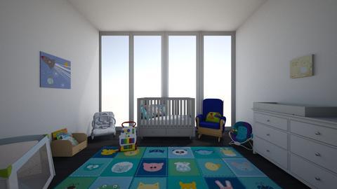 Boys nursery - Kids room - by karissarocks101