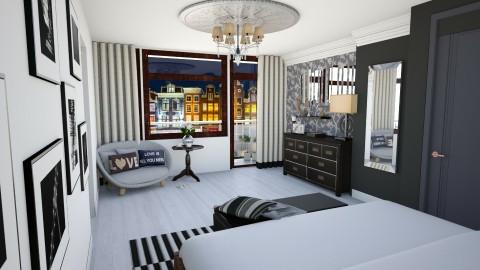 Bedroom redesign 1 - Modern - Bedroom - by molliesmith475