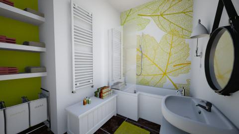 Bathroom_Nikki in London - Bathroom  - by MilaMao