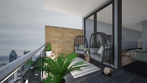 SAGE apartment  - Garden  - by t harv