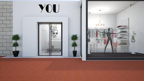 Summer Shop Storefront - by Themis Aline Calcavecchia