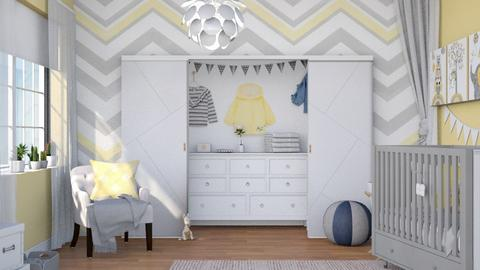 Yellow Nursery - Kids room  - by ArtHousedeco