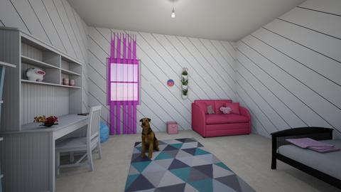shakiras bedroom - Classic - Bedroom  - by anonslay