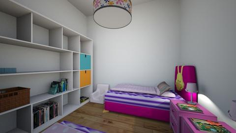 Twin Room - Glamour - Kids room  - by Lala2000