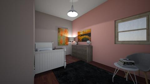 modernish bedroom - Kids room  - by kennacourt1234