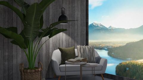 Cozy reading corner - Living room  - by Noa Jones