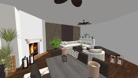 coffee bean room - Living room - by edataman