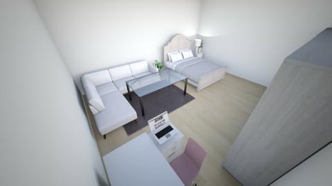 Minimilistic Bedroom  - Minimal - Bedroom  - by Zuhaira Dawood