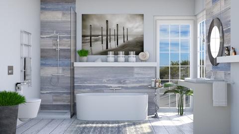 Nautical bathroom - Bathroom  - by Lizzy0715