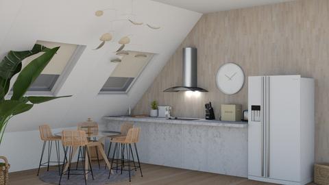 Small Kitchen - Kitchen  - by KenzTheRoomPlaner