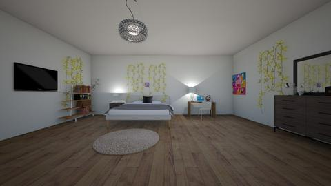 Bedroom - Bedroom - by gabby_m_rodriguez3