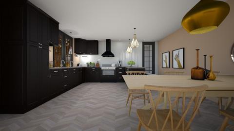 Wood Kitchen - Kitchen  - by nickh2020
