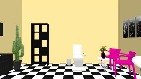 chic bathroom - Bathroom - by mzalston