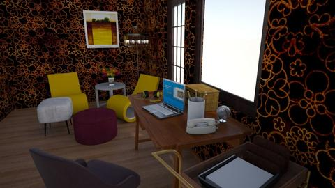 Funky Lil Back Office - Eclectic - Office - by KajsaRain