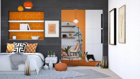Orange App - Modern - Living room  - by Isaacarchitect