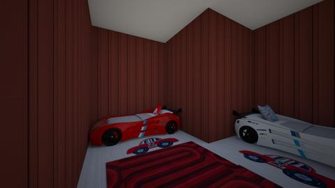 little boys room cars - Kids room  - by percy_jackson_geek