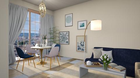 French life - Living room  - by Oyisha