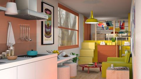 Container home - Eclectic - Living room  - by Sally Simpson