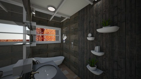 Cabin Bath 2 - by AkhiaStyle