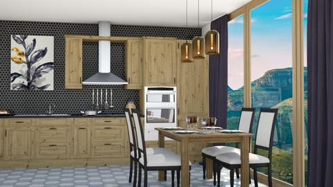 Artisan Kitchen - Kitchen - by llama18
