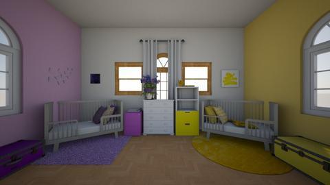 Complementary  - Kids room  - by RickiMoran14