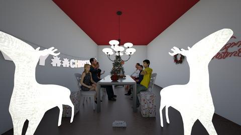 NATALE IN FAMIGLIA - Minimal - Dining room  - by Juliette J