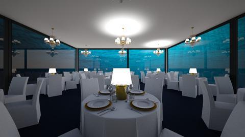 Atlantis Restaurant - Dining room  - by SammyJPili