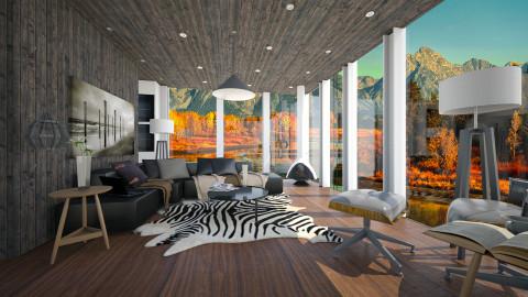 sloppy days - Modern - Living room - by Evangeline_The_Unicorn