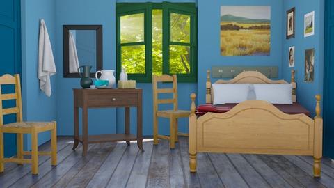 Bedroom of Arles - Bedroom  - by theIrishdog