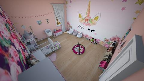 family home 133 - Glamour - Kids room  - by Stavroula Chatzina