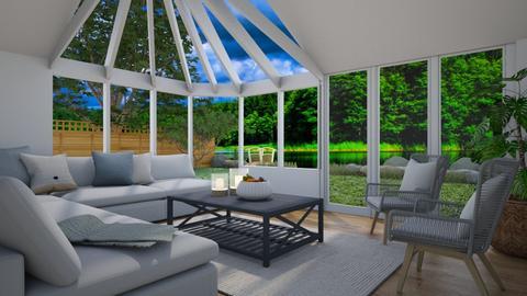 Lakeside - Living room  - by Thrud45