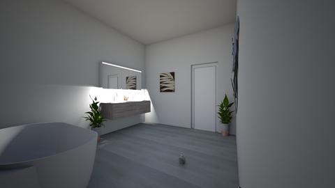 para ballarce - Bathroom  - by dylanarquitec