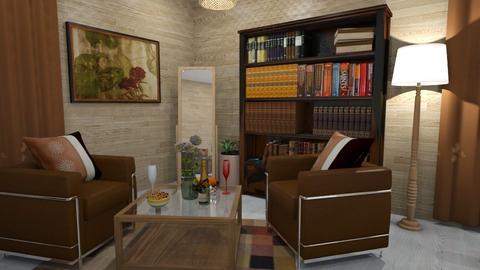 calm - Living room  - by diarah_