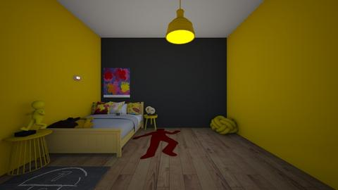 denkis dorm room - Bedroom  - by crying_room