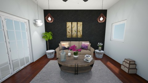 sds - Living room - by hannahre