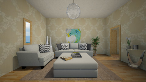 Villa - Living room - by moderatetosevereburns