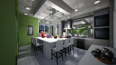 Cozinha - Kitchen  - by Maria Helena_215