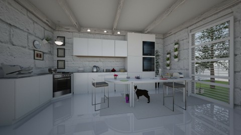 my kitchen - by lucy_world