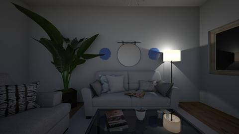 Minimalist Living  - Feminine - Living room  - by lacieriddle555
