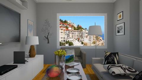 student apartment - Minimal - Living room  - by Nhezi