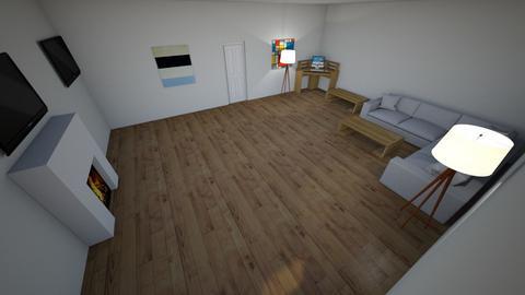 Symmetrical room - Living room  - by Alexmortensen18