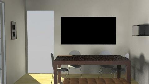 salle manger V3 - Dining Room  - by johanne