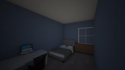 room - Modern - Bedroom  - by ooooooooooooo2