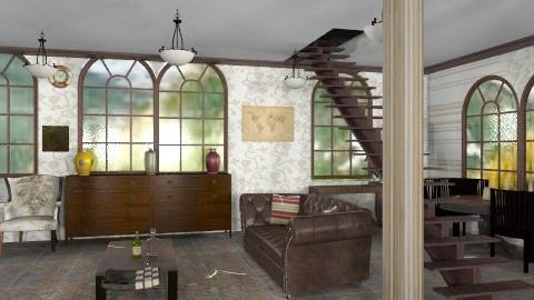 bajo - Rustic - Living room  - by ATELOIV87
