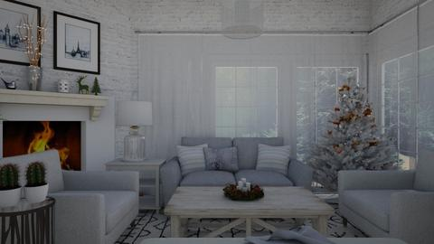 Let it snow  - Living room - by Lucii
