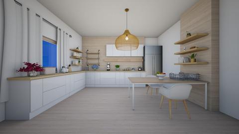 Kitchen 3 - Kitchen  - by cagla_deniz_